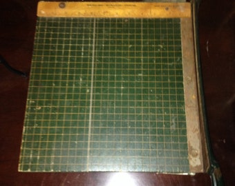 Vintage Monarch Paper Cutter