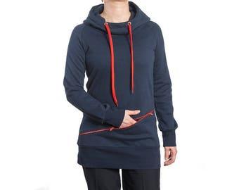 Hooded dress Juliana XC1