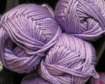 CLEARANCE Super Soft Lavender Cascade Cherub DK Yarn 180 yards Acrylic Nylon Blend Color 16