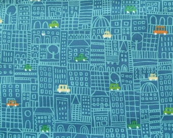 Honk Honk Print by Michael Millar-for quilting, sewing, home decor.