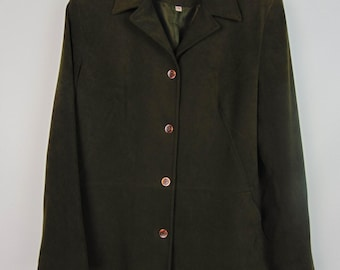 Vintage Dark Green Jacket