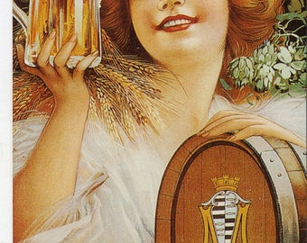 Bierre de Vezelise French Poster Print