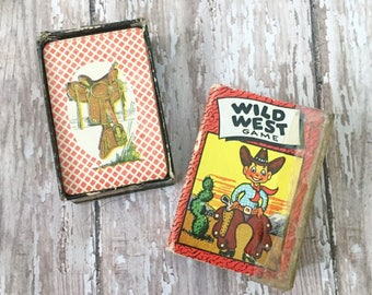 Wild West Card Game - 1950's - Russell MFG