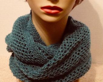 Cachemire Col/écharpe tricotés à la main