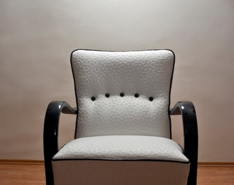 Restored art deco armchair