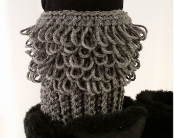 Ready-to-Ship Loopy Boot Cuffs