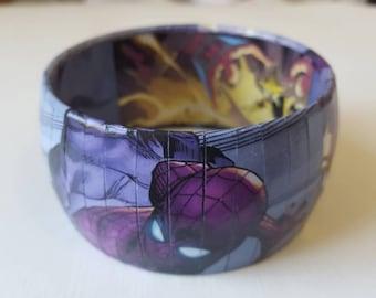 SPIDER-MAN Bangle Bracelet - Comic Book Jewelry