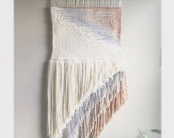 Extra Large CUSTOM Handwoven Wall Hanging / Fiber Art / Textile / Woven Tapestry / Home Decor