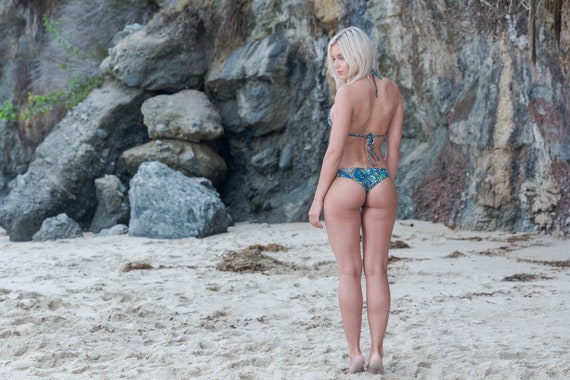 Kami Bottom In Our Paisley All Day Collection made by SULTRY SWIMWEAR®