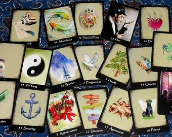 Isabella Oracle Fortune Telling Cards. 54 cards. Brand New. Self Published.