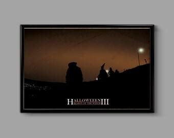 Halloween III Season of the Witch 11 x 17 Inch Minimal Movie Poster