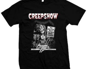 Creepshow - George A. Romero - Pre-shrunk, hand screened 100% cotton t-shirt