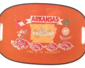 Arkansas State  Serving Tray