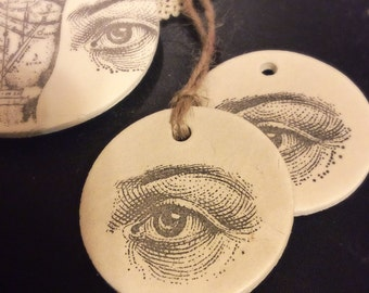 Occult Ornament - Halloween Tree - Eye ornament