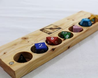 Zucati Holiday Bundle: Dice and Case made from our 2016 Christmas Tree