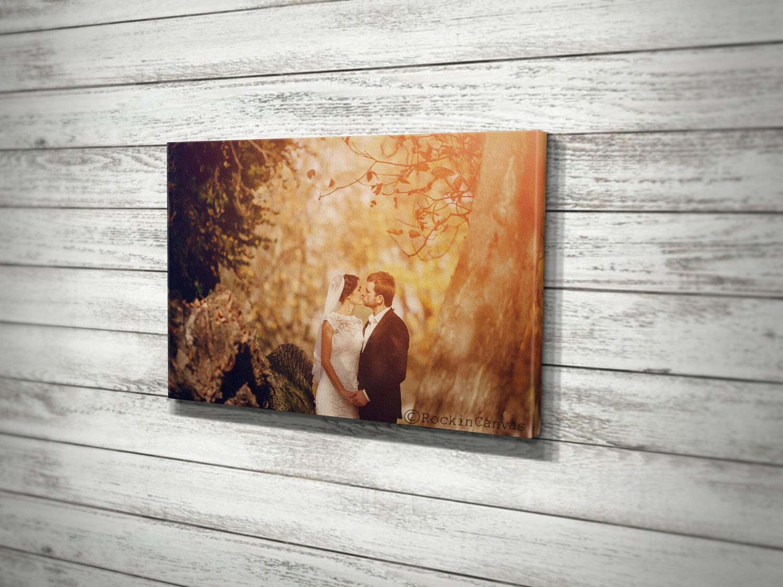 Hochzeit Foto-Leinwand Custom Photo Print gerahmte Foto
