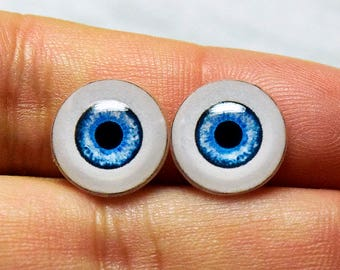 Doll eyes 12mm AD color Blueberry