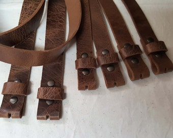 Distressed Leather Belts ~ Custom Cut ~ Groomsmen Wedding Belts for Suits or Jeans ~ Made to Measure ~ Leather Interchangeable Snap Belts