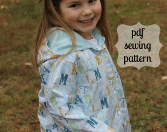 April Showers Jacket ~ instant download PDF sewing pattern~