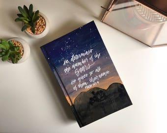 Night Sky Desert ESV Bible