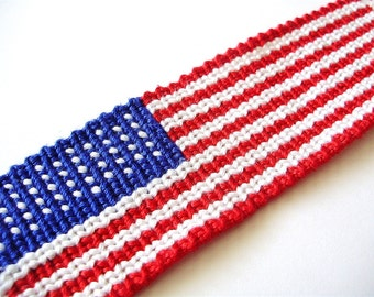 How to Make an American Flag Friendship Bracelet - PDF Tutorial