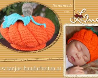 Pumpkin Baby Hat Crochet Pattern