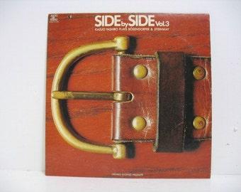 Kazuo Yashiro Side by Side Vol. 3  Jazz Piano Lp Record Album Audio Lab, Classical Jazz Japan