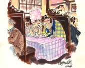 Original rough cartoon fo...