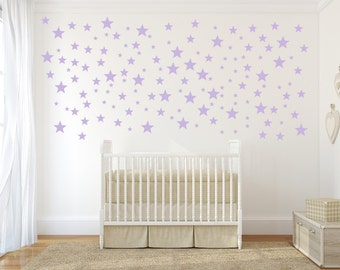 Star Wall Decals, Star Wall Stickers, Nursery Wall Decal, Wall Decal for Nursery