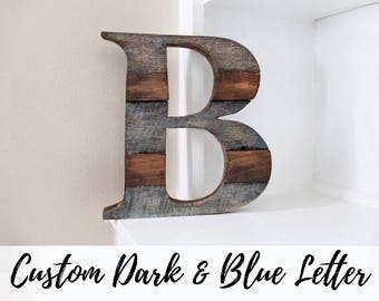Rustic Home Decor, Farmhouse Decor, Wood Letter, Wall Decor, Wooden Letter,