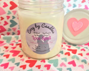 Love Spell- Valentines Day Soy Candle