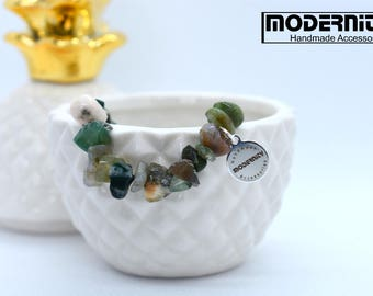 Fancy Jasper, Gemstone Bracelets, Natural Gemstone Beads, Beaded Stretch Bracelets, Stretch Bracelet, Womens Gifts, Handmade Beaded Jewelry