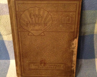 The Children's Primer Book from 1891