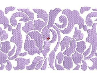 Border Machine Embroidery Design-Lace Embroidery Design,,Paadar Club Lace and Border Design