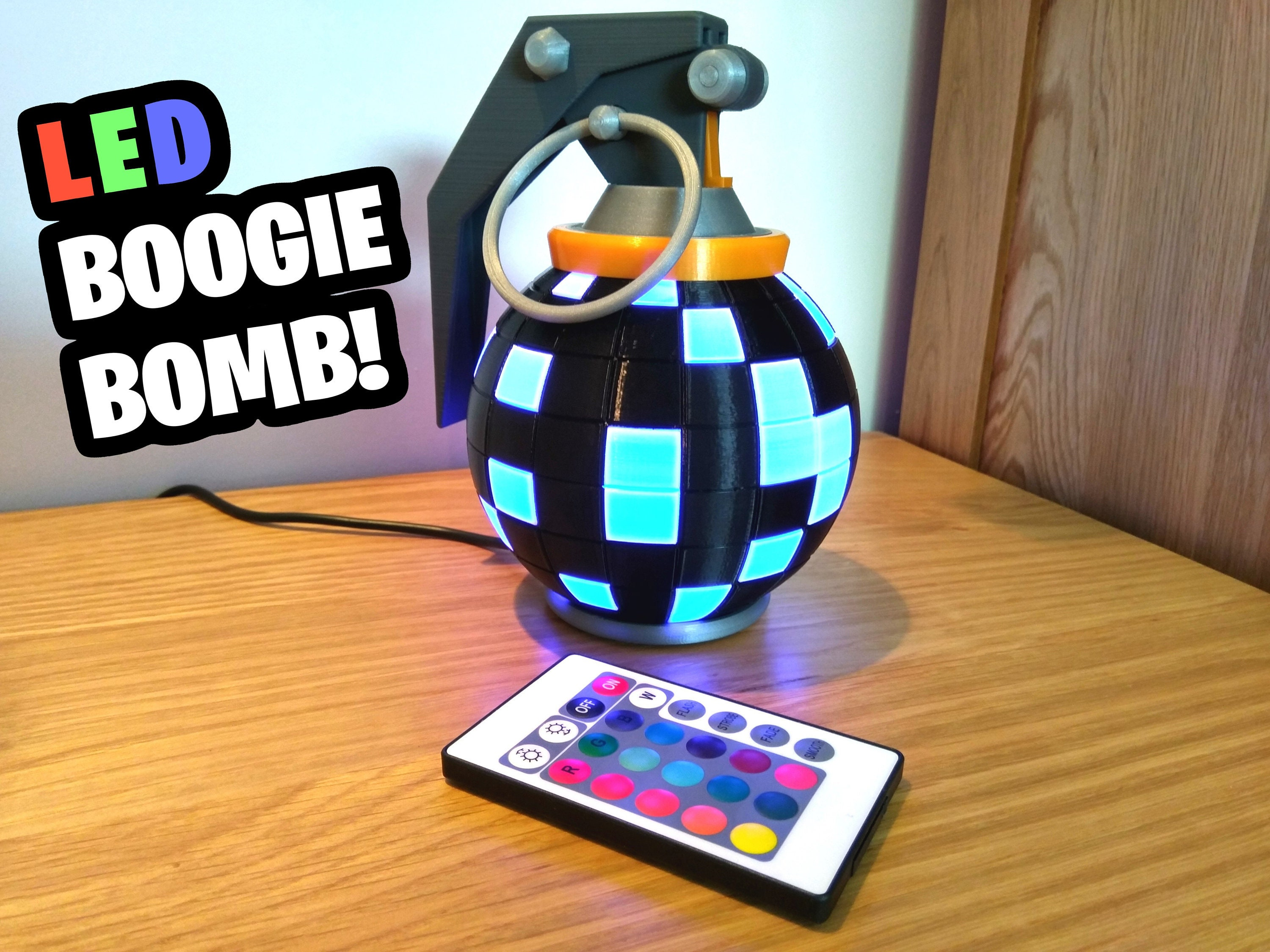 Fortnite Boogie Bomb Desk Lamp Fortnite Gift Gamer Gift