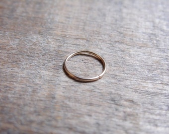 Catchless Hoop 14k Gold Fill