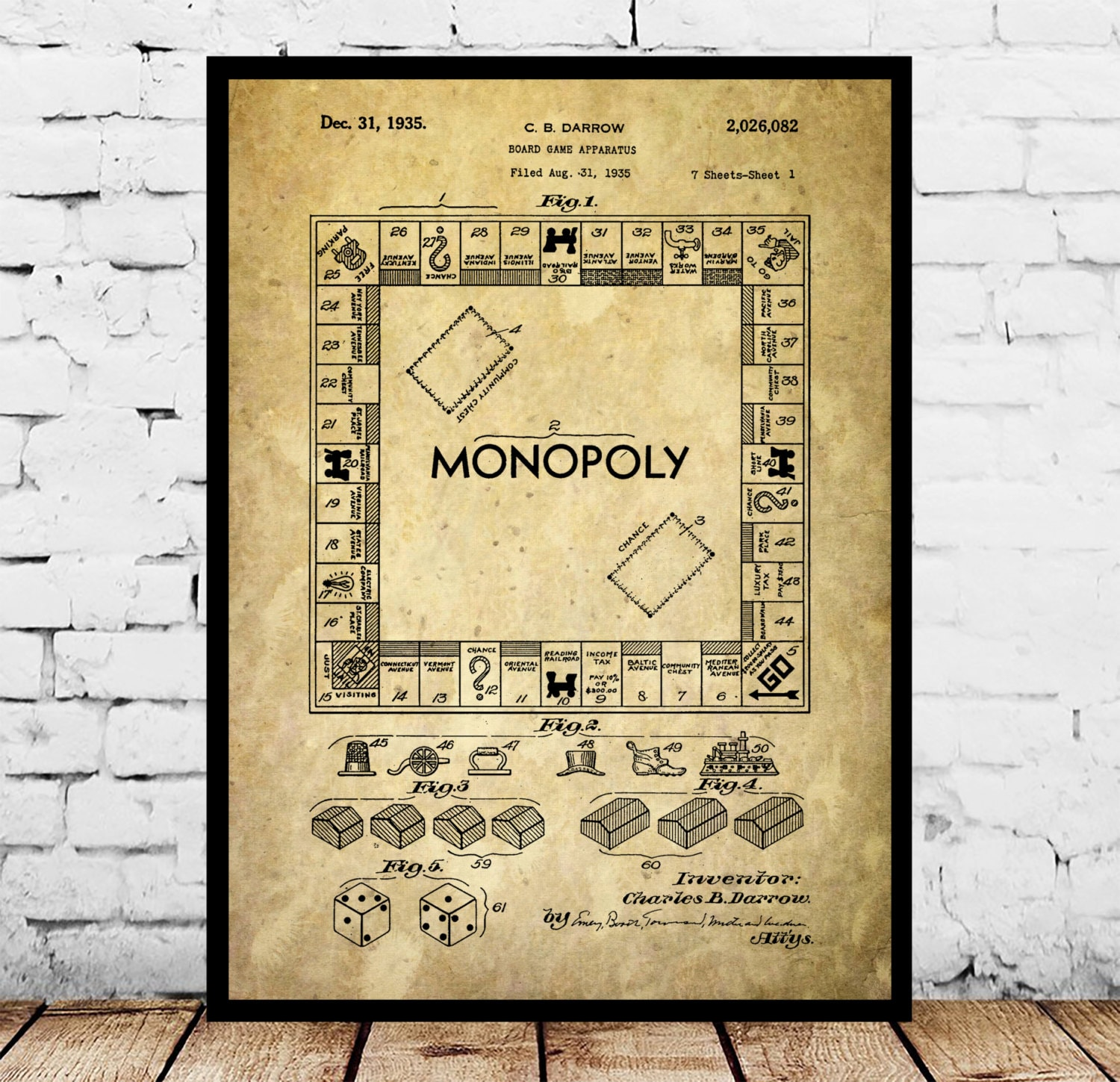 Monopoly poster monopoly patent monopoly print monopoly art monopoly poster monopoly patent monopoly print monopoly art monopoly blueprint monopoly wall art board game malvernweather Images