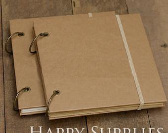 Kraft Paper Notebook / Photo ALBUM / Hand-painted Graffiti Day Book / DIY Leather Wedding Albums (KB04)