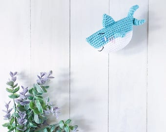 Master Aoi the baby shark amigurumi crochet pattern