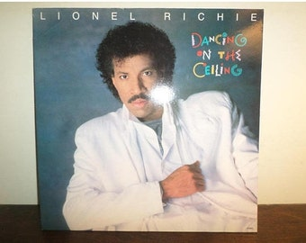 1986 Vintage LP Record Lionel Richie Dancing On the Ceiling Motown Records Gatefold Cover Very Good Condition 11015