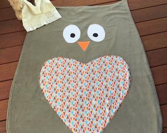 Owl baby play mat