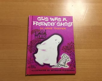 GUS was a Friendly GHOST hardcover picture book by Jane Thayer & Seymour Fleishman