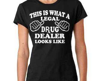 Pharmacologist T-Shirt Gift For Pharmacist Tee Shirt Woman Top Ladies Fit Rx Tee Shirt