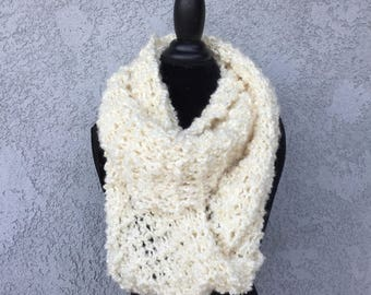 Knitted Infinity Scarf