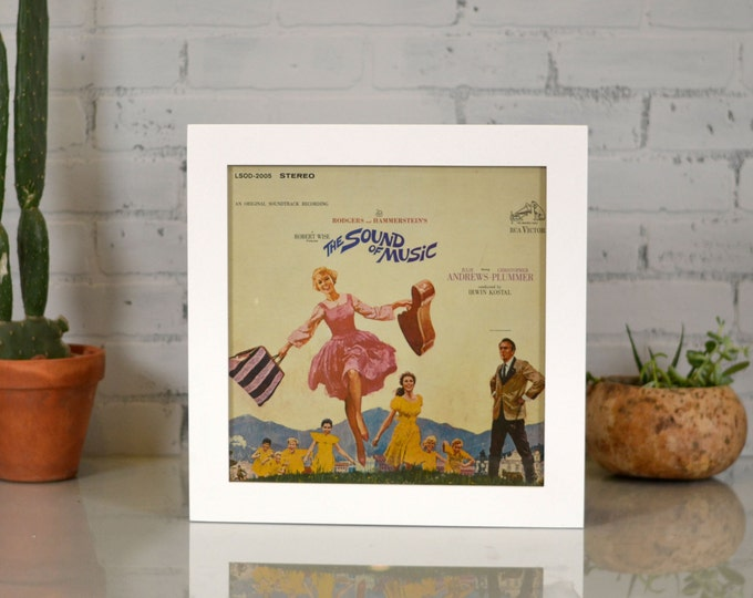 12.5x12.5 Record/LP Frame in 1.5-inch standard Style and Color Of Your Choice - Album Cover Frame -12 inch Vinyl Picture Frame for Album Art