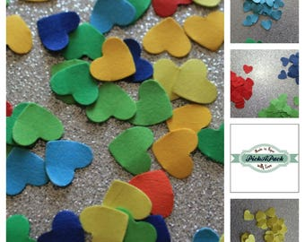 Confetti Heart wedding party engagement birthday Confetti Hearts