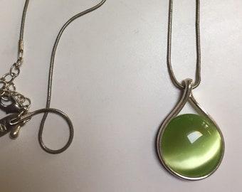 NY Lime Green Pendant
