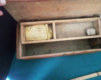 Home Made Fishing Tackle Box From Dynamite Box