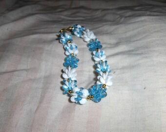 Snowflake Snowblocks bracelets