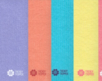 Set of 6 Swedish Dishcloth (dry sponge cloth) Multi-colors